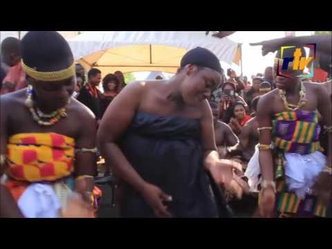 Emelia Brobbey Dancing at Manhyia Palace