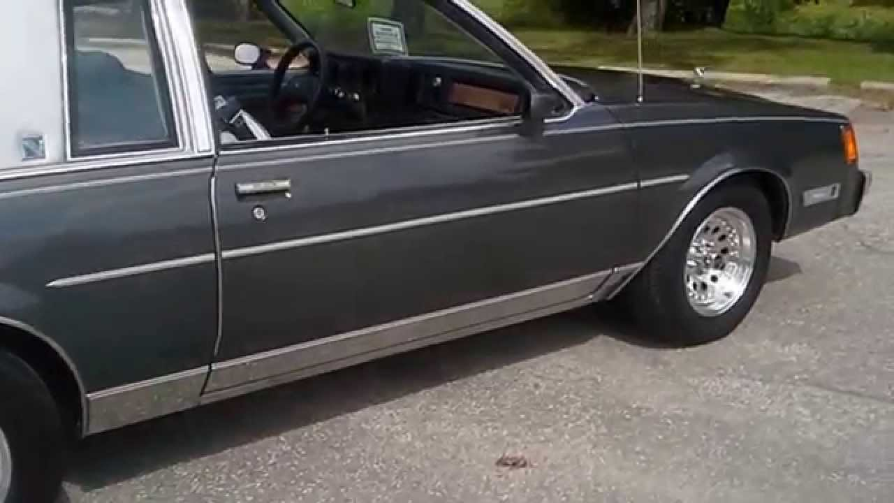 1982 Buick Regal >> 1982 Buick Regal Limited Youtube