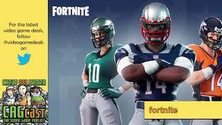 Le gang parle skins NFL à Fortnite - CAGcast 569