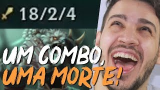 RENGAR É O PODER DA JUNGLE! COMBOU É MORTE!