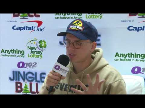 Logic Talks Grammy Nod And Past Jobs at Q102 Jingle Ball (Interview)