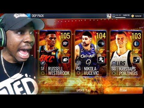 Pulling 104 OVR WESTBROOK In OOP Pack Opening! NBA Live Mobile 19 Season 3 Ep. 99