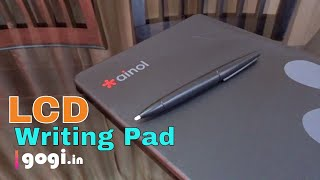 Ainol 10 inch LCD Writing Pad review - Under Rs. 2000 write, erase, repeat