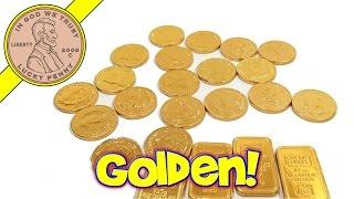 Bank Vault Milk Chocolate Gold Coins, Steenland Candies