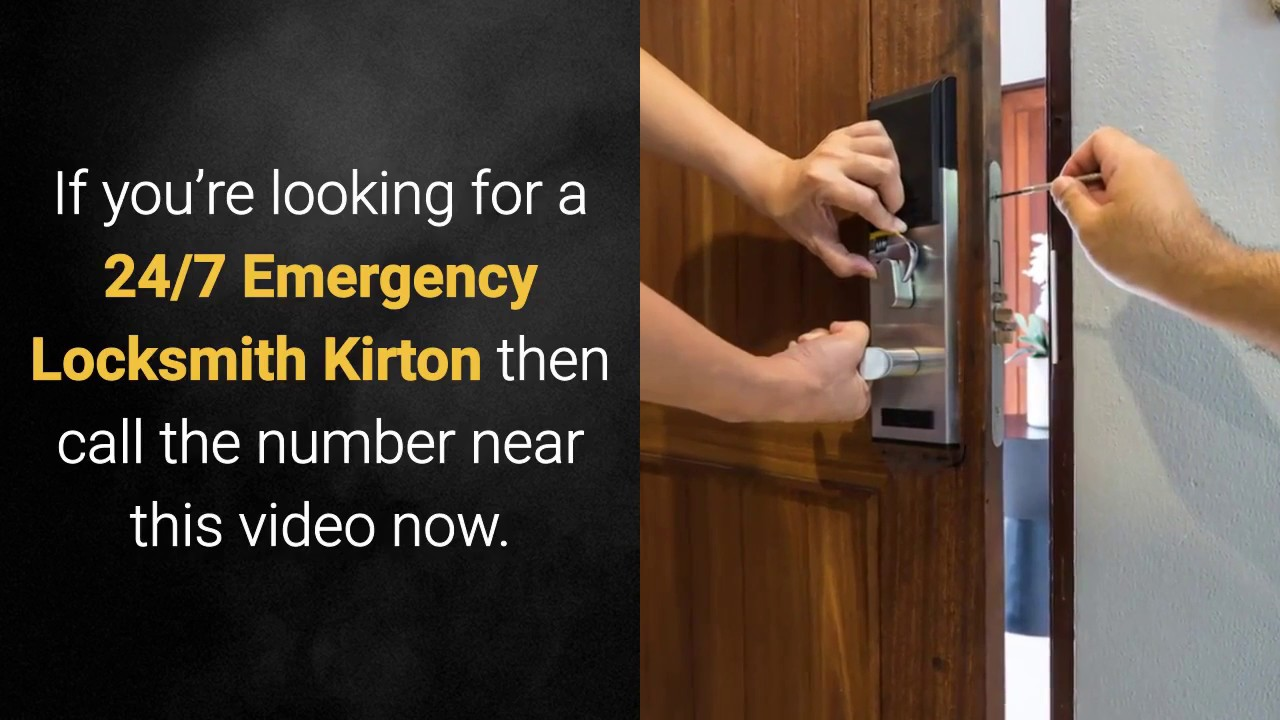 247 emergency locksmith kirton - YouTube