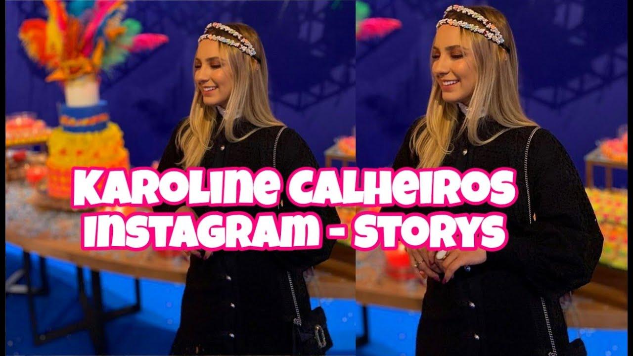 Karoline Calheiros   Noiva Do Cantor Gabriel Diniz   Instagram Storys  