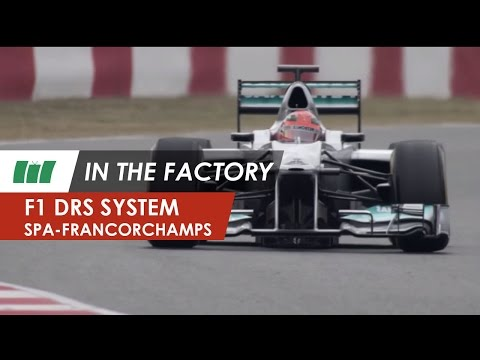 Circuit of Spa-Francorchamps | Formula 1 DRS system | IN THE FACTORY
