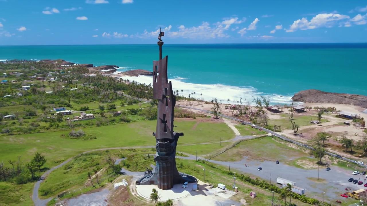 La Estatua de Colón 4K - YouTube