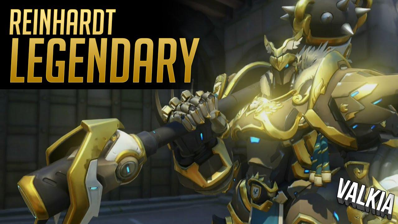 New Reinhardt Legendary Skin Announced (Balerich)!    Overwatch ...