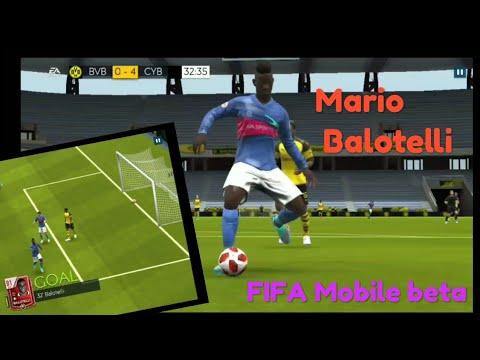 Mario Balotelli Fifa Mobile Beta Goal Celebration 5 Fifa Mobile Beta 19 Avcyborg Youtube