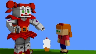 - BABY MINIGAME in MINECRAFT FNaF Sister Location