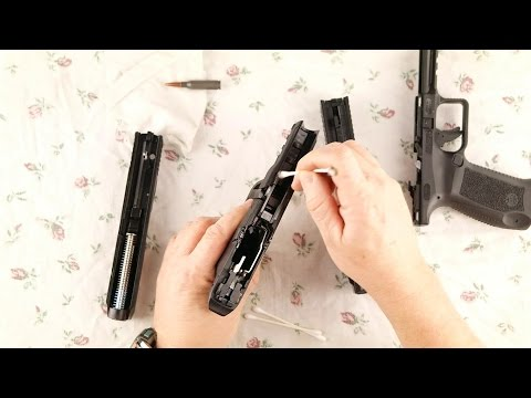Cleaning a Handgun why clean a brand new gun?