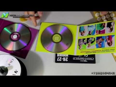Как закрепить CD/DVD диски - YouTube
