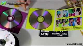 Как закрепить CD/DVD диски