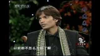 Indian guy Dilip on Chinese TV talkshow