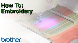 Brother™ PE-500 Embroidery Machine | Project Tutorial