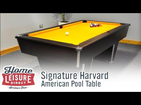 Signature Harvard American Pool Table