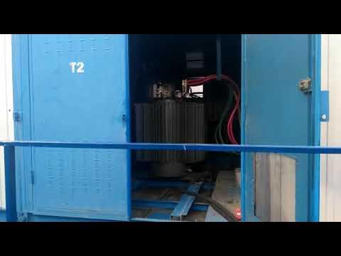 Сушка и очистка трансформаторного масла в трансформаторе ТМГ 630/10