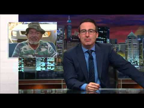 John Oliver sheds light on voting rights of US territories