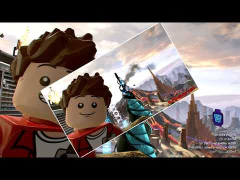 LEGO MARVEL Super Heroes 2 - Aunt May Mission 2, Take Picture of a Futuristic Traffic Cone