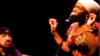 "India.Arie performing ""Blackbird"" at GEMS Benefit"