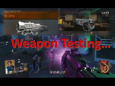 Testing Variants! Infinite Warfare Zombies - OP Weapon Variants & High Round