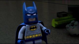 Мультик Лего. Бэтмен против женщины кошки.
