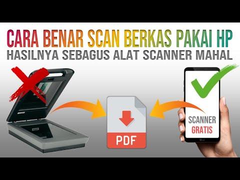 Cara Scan Berkas Menggunakan HP yang Hasilnya Jadi File PDF
