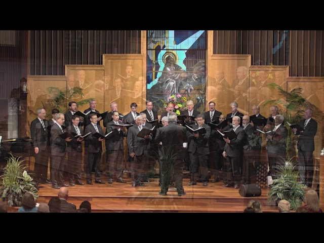 The Men of Markham Woods 25th Anniversary Concert