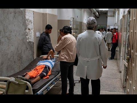 Inside a crumbling Venezuelan hospital