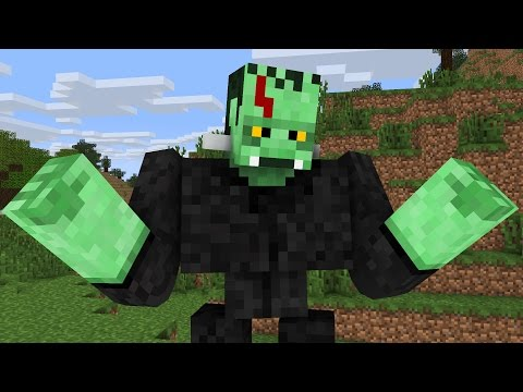 Monster School: Halloween Costumes -- Cubic Minecraft Animation