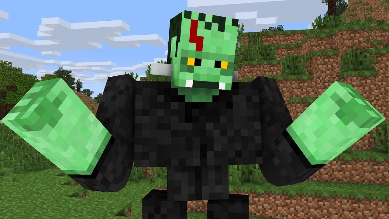 Monster School: Halloween Costumes -- Cubic Minecraft Animation ...