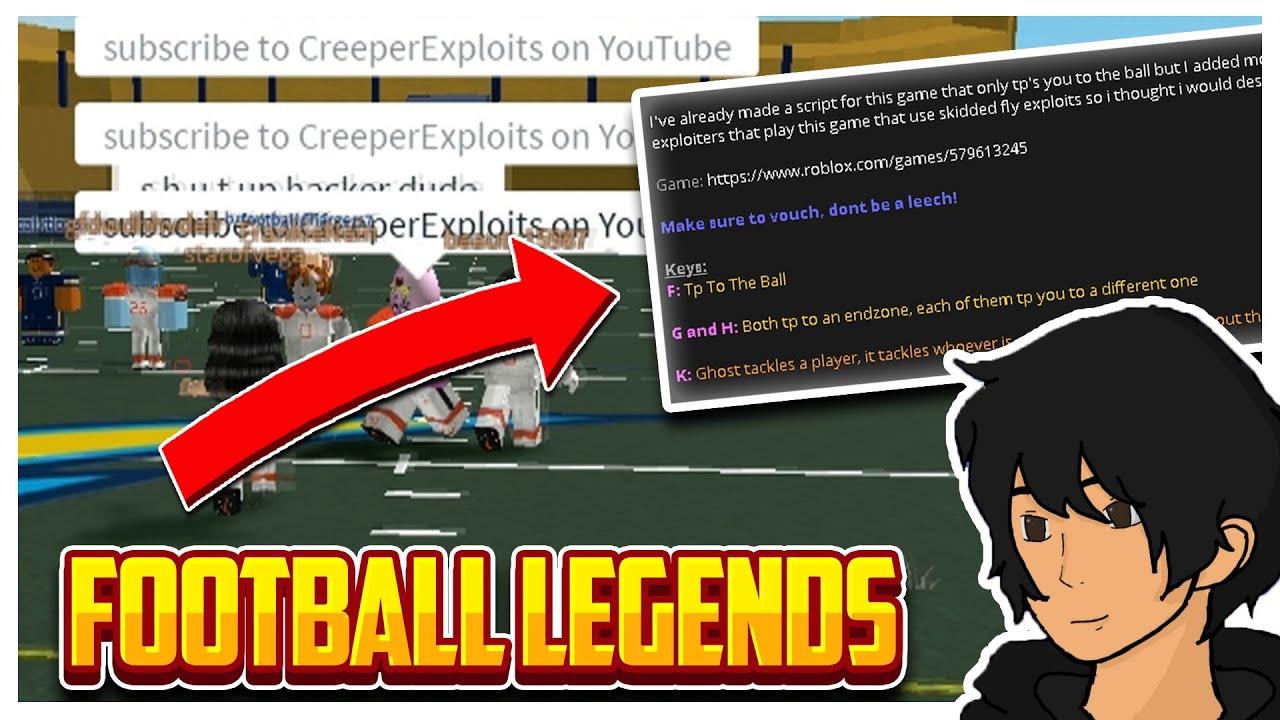 Roblox Exploiting 64 Roblox Football Youtube