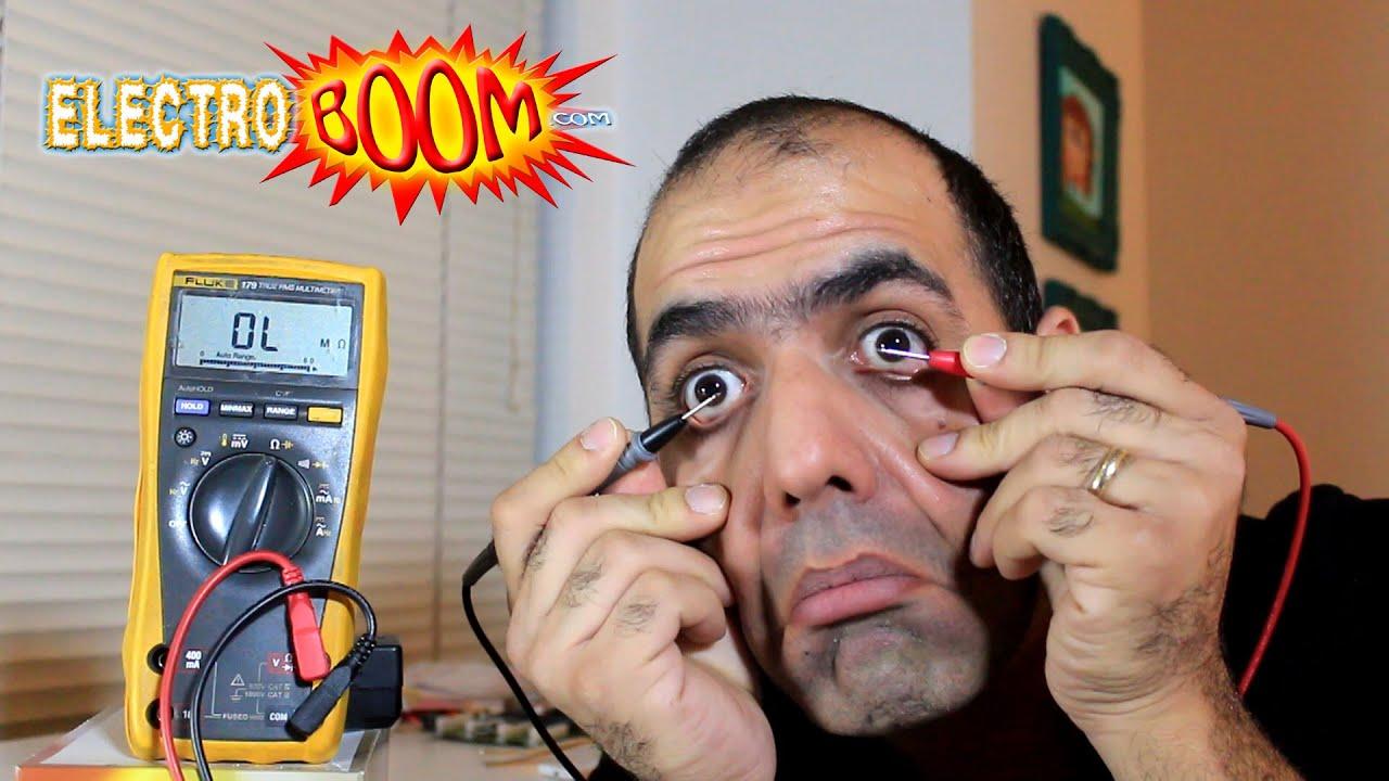 Probing Eyes to Measure Eye Resistance