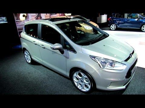 2013 Ford B-Max-Titanium - Exterior and Interior Walkaround - 2012 Paris Auto Show