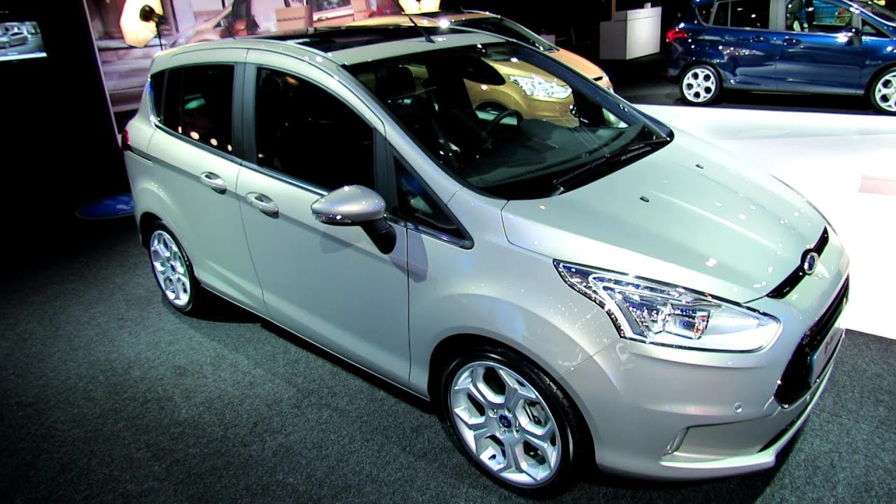 2013 ford b max titanium exterior and interior walkaround 2012 paris auto show youtube. Black Bedroom Furniture Sets. Home Design Ideas