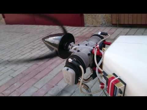 Engine Valach 120cc 4-stroke Edge-540 CARF Russia Novosibirsk