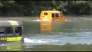 All-terrain vehicle Beaver drowned. Russia
