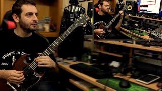 Скачать Rotting Christ Non Serviam Guitar Cover Ft Roger Rovento