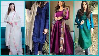 How to style siṁple plain dress Beautiful design idea on plain dress One color dress designing ideas