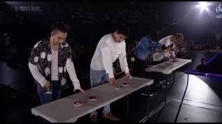 BIGBANG障害物競走 早すぎるテソンの全力疾走ww