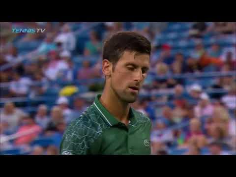 Best shots from Novak Djokovic's 2018 Cincinnati title run