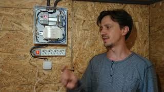 Электричество и автоматика в курятнике. Вентиляция, освещение и отопление. Часть 6
