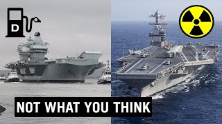 Diesel vs Nuclear Aircraft Carriers
