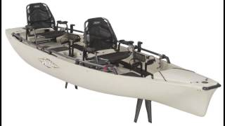 Features of the 2015 Hobie Pro Angler 17 Tandem Kayak!(BUY IT NOW: http://www.KayakDIY.com/store.html or on Amazon: ..., 2014-07-15T23:09:22.000Z)