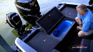 NITRO Boats: 2015 ZV 21 Complete Review by BoatTEST.com