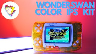 """NEW IPS Kit f๐r the WonderSwan Color is """"Wondrous""""! 