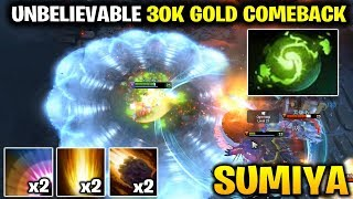 Sumiya REFRESHER Invoker 30K GOLD UNBELIEVABLE COMEBACK
