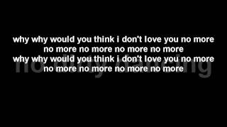 Akon - Love You No More [Lyrics On Screen] 2012