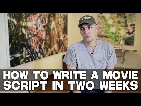 How To Write A Movie Script In Two Weeks by Robert Lawton (CrowdSource Studios CEO)